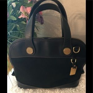 Authentic Dooney and Bourke Black Handbag